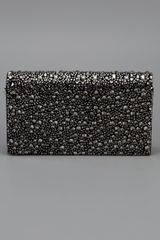 Roberto Cavalli Diamanté Clutch in Black - Lyst
