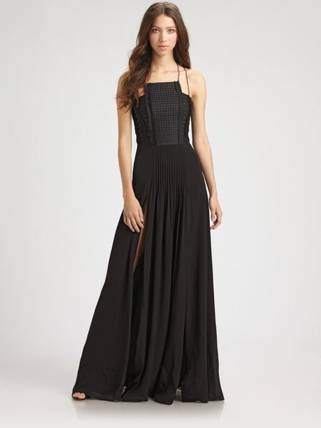 Sachin & Babi Delfina Dress in Black (jet) - Lyst