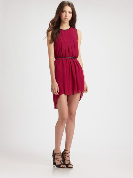 Sachin & Babi Varna Dress in Red (magenta)