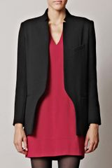 Vanessa Bruno Textured Wool Jacket - Lyst