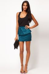 ASOS Collection Asos New Peplum Skirt - Lyst