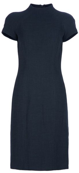 Gucci Archive Wool Dress in Gray (grey) - Lyst