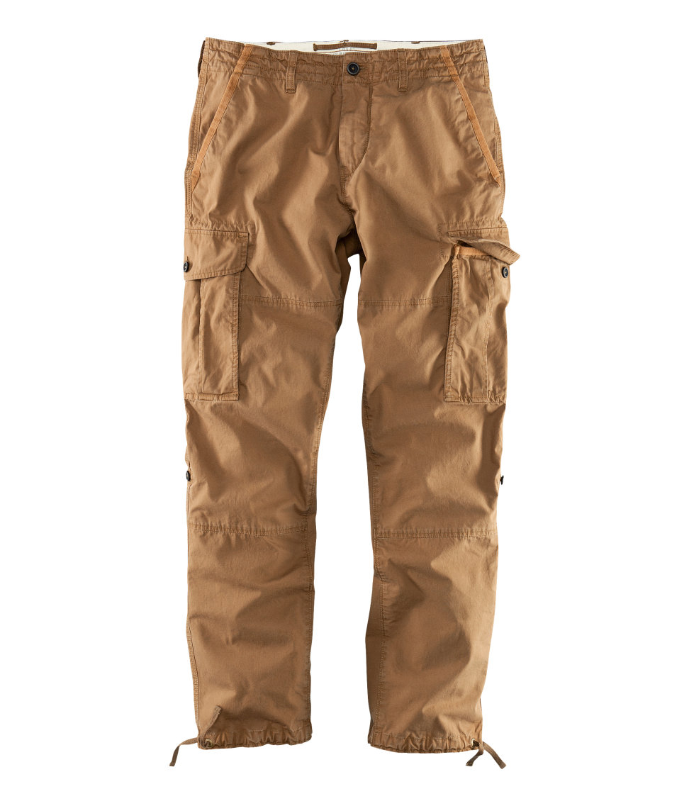 H Amp M Cargo Pants In Natural For Men Lyst