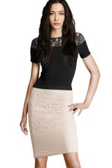 H&m Skirt in Pink (powder) - Lyst