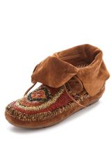 House Of Harlow Madison Beaded Moccasins in Brown (whiskey) - Lyst