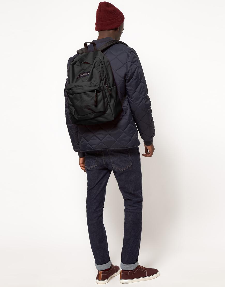 Jansport Superbreak Backpack In Black For Men Lyst