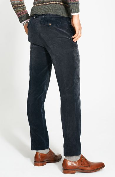Polo Ralph Lauren Country Corduroy Pants In Blue For Men