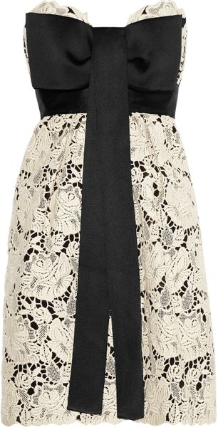 Stella McCartney Walker Embroidered Lace Dress - Lyst