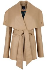 Ted Baker  Matild Wrap Coat  in Beige - Lyst