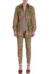 Thakoon Addition Flower Camo Utility Jacket - Lyst