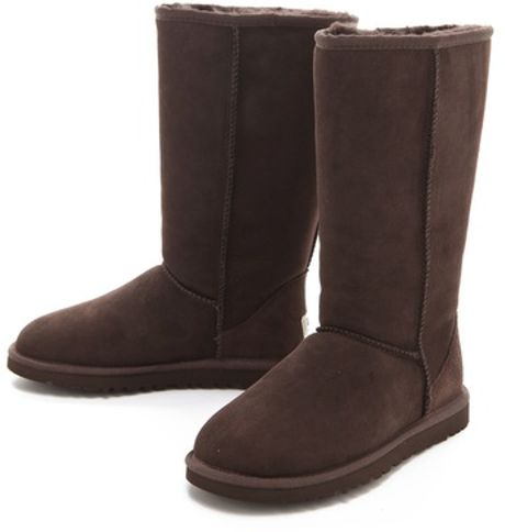 classic uggs tall chocolate