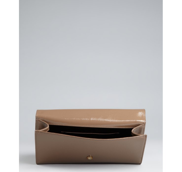 ysl uk website - yves saint laurent patent leather belle de jour clutch ...
