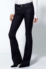 7 For All Mankind The 39the Slim Illusion39 Kimmie Bootcut in Black (slim illusion) - Lyst