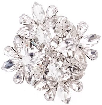 J.Crew Jeweled Brooch - Lyst
