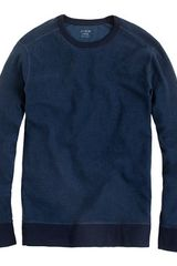 J.Crew Crossknit Long Sleeve Tee - Lyst