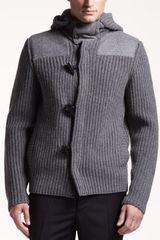 Jil Sander Knit Toggle Jacket - Lyst