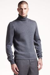 Jil Sander Turtleneck Sweater - Lyst