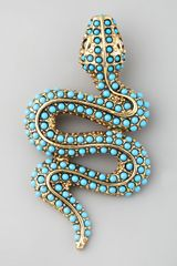 Kenneth Jay Lane Snake Pin - Lyst
