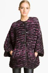 Missoni Mélange Bouclé Sweater Coat - Lyst