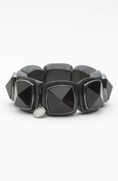 Marc By Marc Jacobs Ice Cubes Stretch Bracelet in Gray (hematite multi) - Lyst