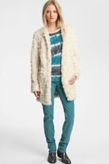 Zadig & Voltaire Louisy Faux Fur Jacket
