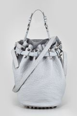 Alexander Wang Diego Drawstring Bucket Bag - Lyst