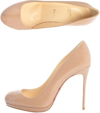 Christian Louboutin Filo 120mm Patent Pumps - Lyst