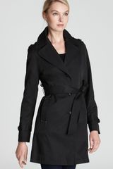 DKNY Melissa Trench Coat with Belt - Lyst
