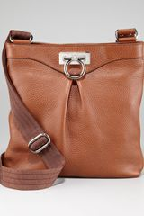 Ferragamo Graziella Crossbody Bag Tan - Lyst