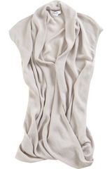 Helmut Lang Twist Top in Gray - Lyst