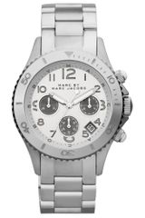 Marc By Marc Jacobs Womens Chronograph Stainless Steel Bracelet 40mm - Lyst