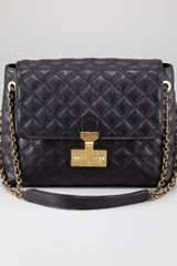 Marc Jacobs Single Baroque Hammered Shoulder Bag Extra Large - Lyst