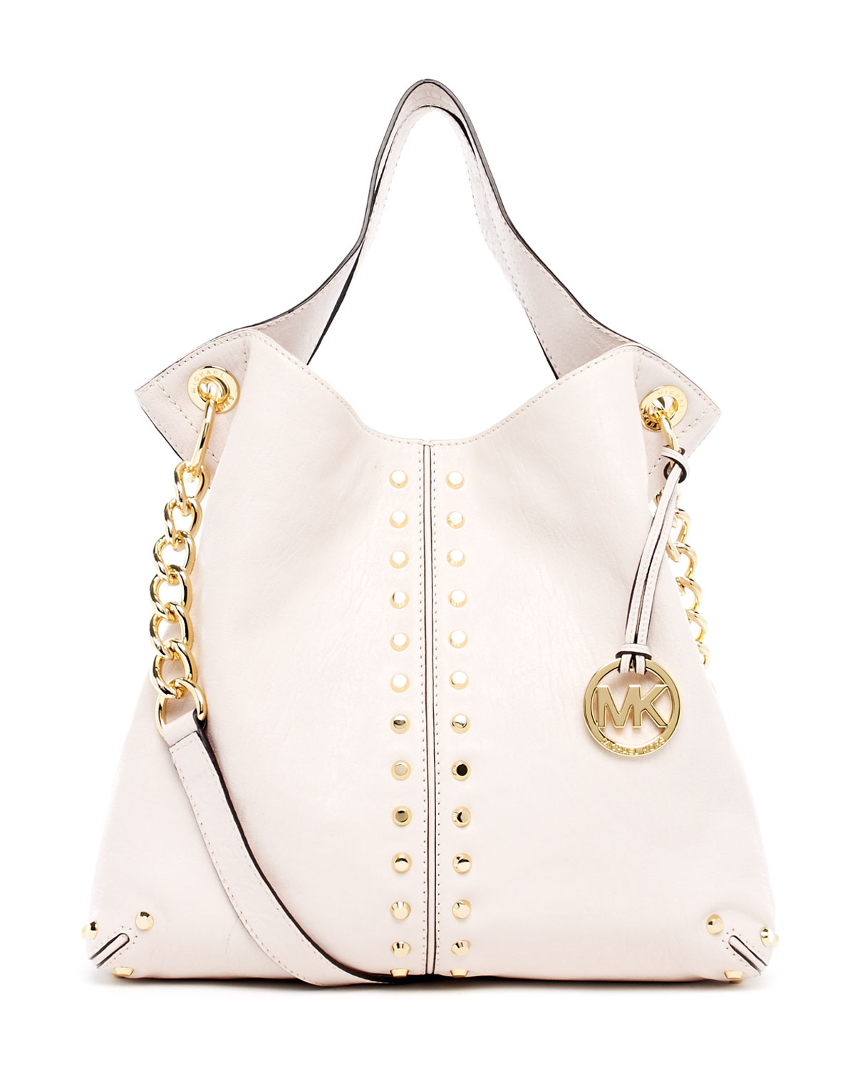 cd3c62e8816ccd MICHAEL Michael Kors Uptown Astor Large Shoulder Tote in White - Lyst