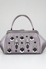 Prada Jeweled Doctors Bag - Lyst