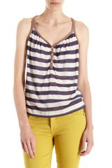 Splendid Striped Tank Top - Lyst