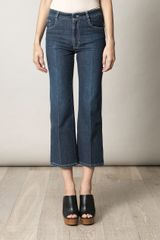 Stella McCartney Chloe High Rise Flared Jeans - Lyst