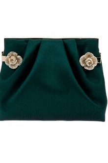 Valentino Flower Embellished Clutch - Lyst
