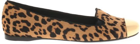 Saint Laurent Leopard Foal Slippers in Animal (leopard) - Lyst