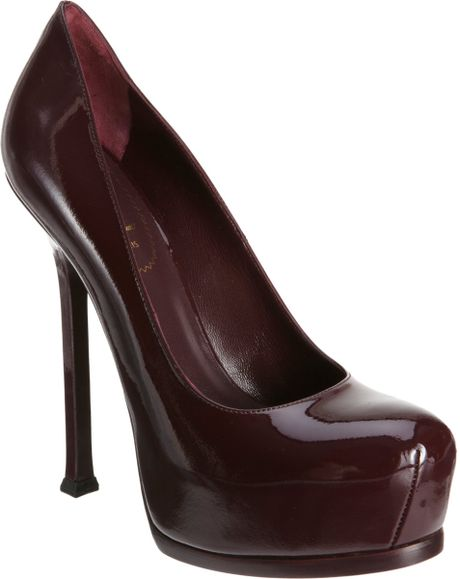 Yves Saint Laurent Tribtoo in Brown (wine) - Lyst