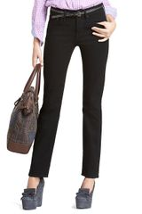 Brooks Brothers Slight Curve Slim Leg Jeans in Blue (black-ink) - Lyst