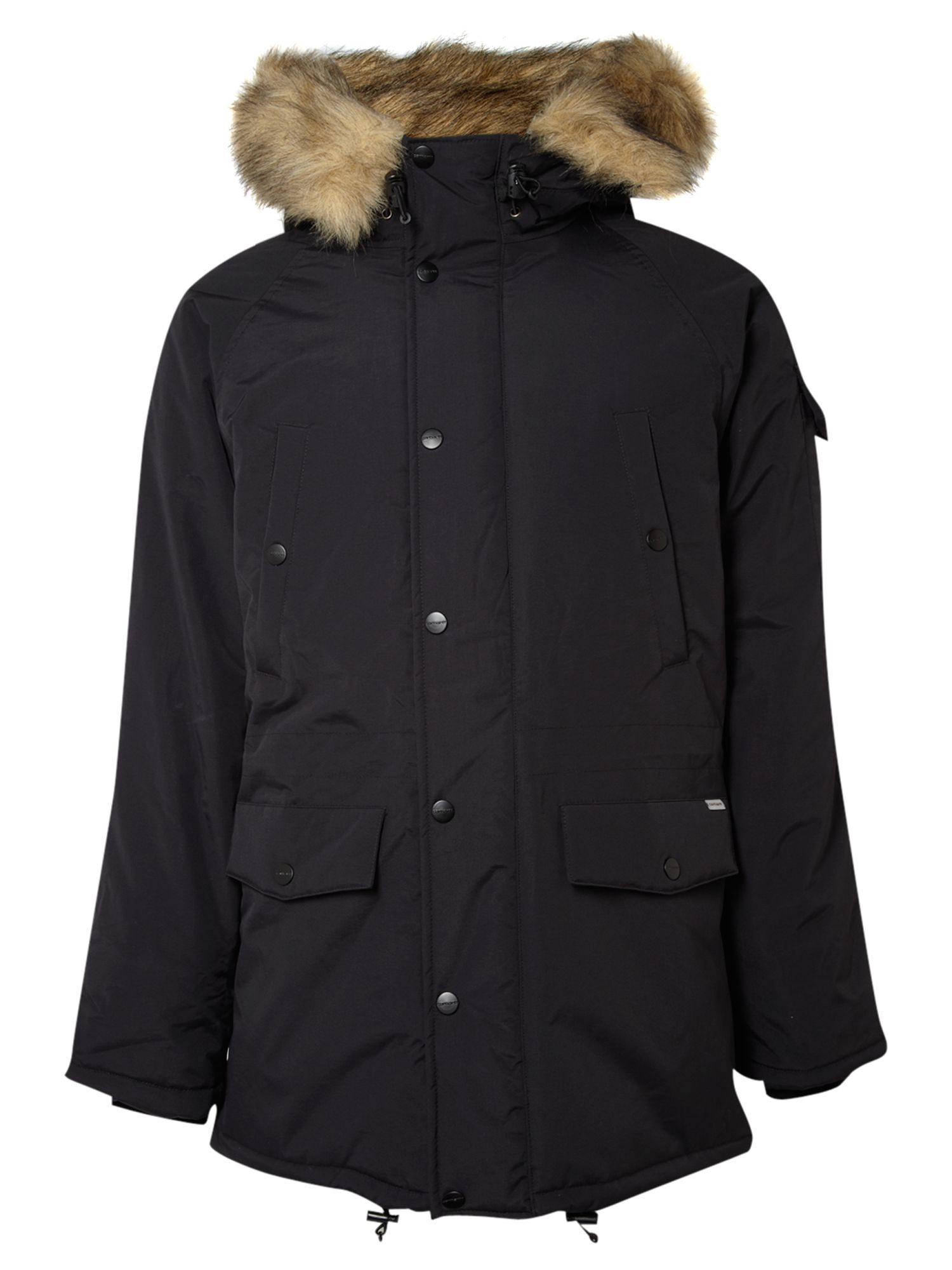 carhartt anchorage parka in black for men lyst. Black Bedroom Furniture Sets. Home Design Ideas