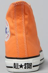 Converse The Chuck Taylor All Star Hi Sneaker in Nectarine in Orange - Lyst