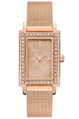 DKNY Rectangular Mesh Strap Watch - Lyst