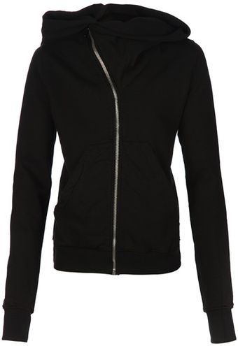DRKSHDW by Rick Owens Hooded Sweatshirt - Lyst