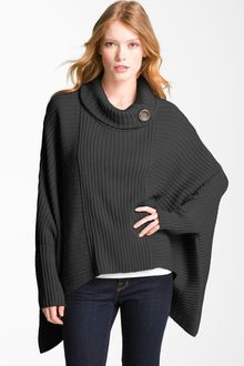 Halogen Button Funnel Neck Topper - Lyst