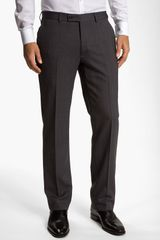 John Varvatos Herringbone Trousers - Lyst