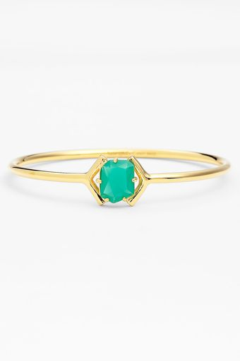 Kate Spade Colored Stone Bangle - Lyst