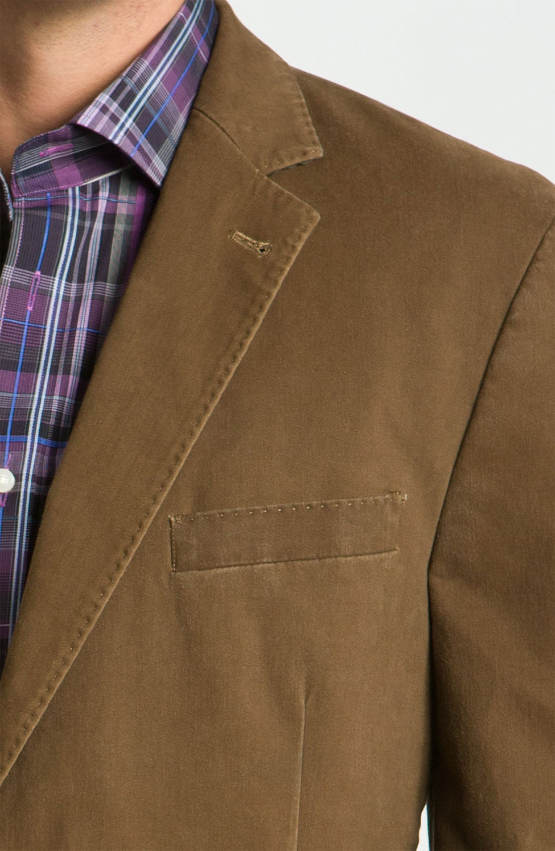 Kroon Washed Twill Sportcoat in Brown for Men | Lyst