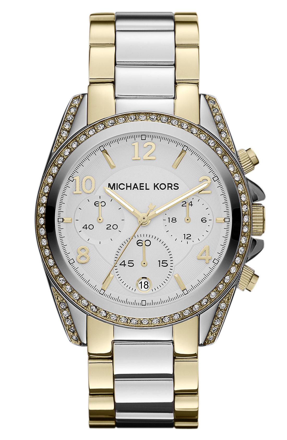 michael michael kors michael kors blair chronograph