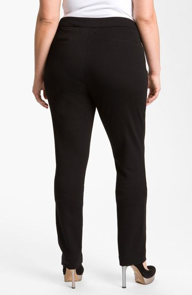 not your daughter 39 s jeans nydj ponte knit pants in black. Black Bedroom Furniture Sets. Home Design Ideas